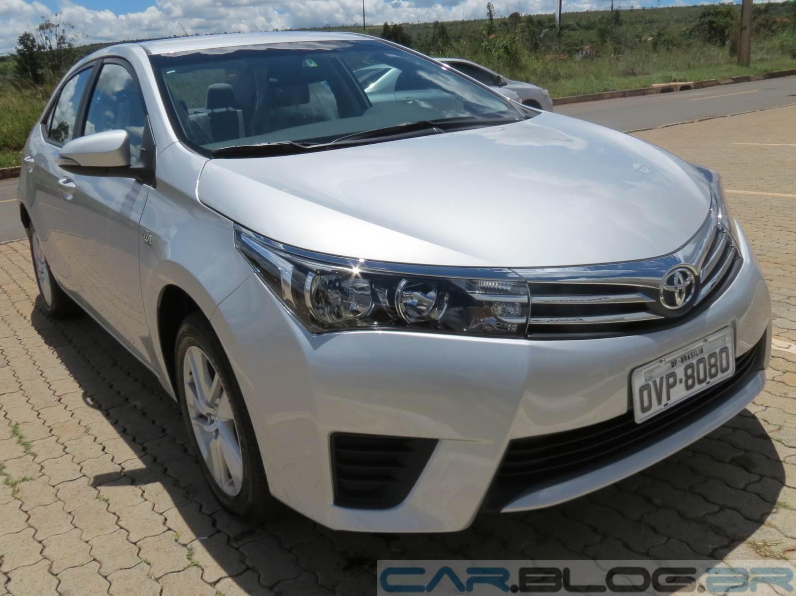 Novo Toyota Corolla GLi 2016 Upper