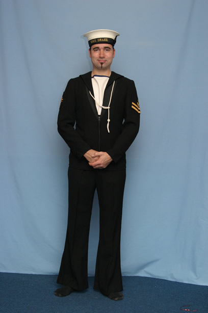 even brit sailors uniforms are sold but obviously a model