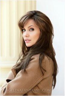 Angelina jolie - rahasia rambut kinclong