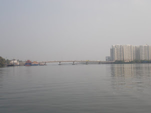 """Gosree Bridge -1"" linking  Ernakulam and Bolgatty Island."