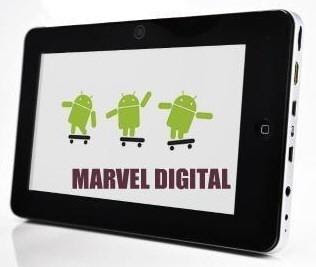 Marvel Digital Launches Android Tablet
