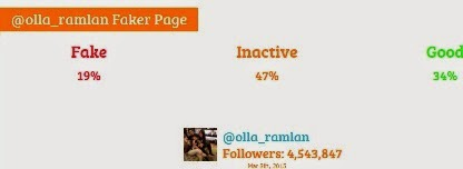 olla ramlan fake followers
