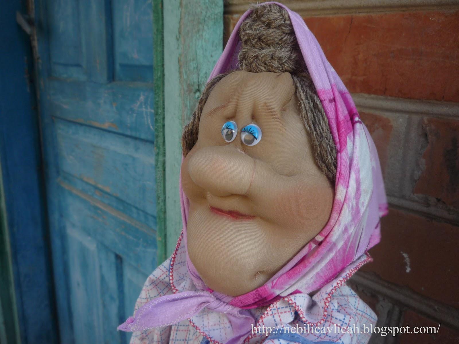 Чулочная кукла бабушка своими руками мастер класс 52