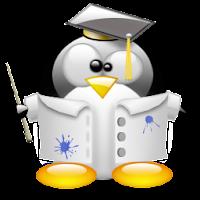 Professor Tux - imagem ilustrativa