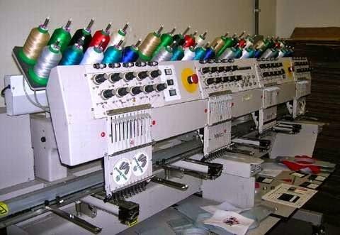 maquina profesional de bordado