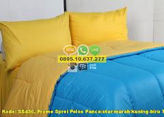 Harga Promo Sprei Polos Panca/star/murah/kuning-biru Tos Jual
