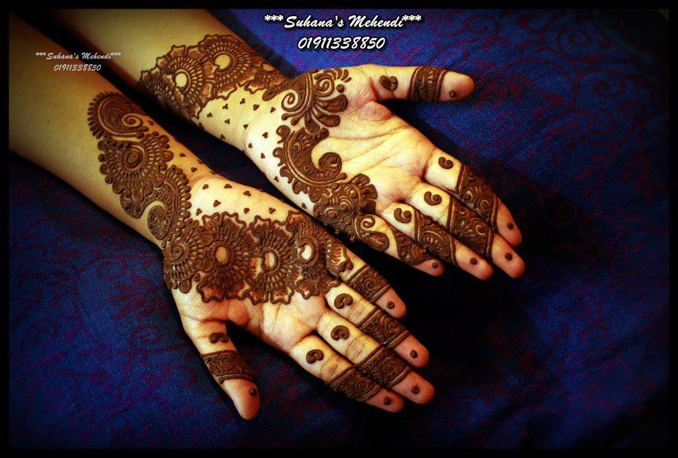 Bridal Mehndi Design 2012