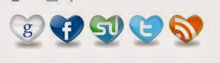 sosyal paylaşım butonları