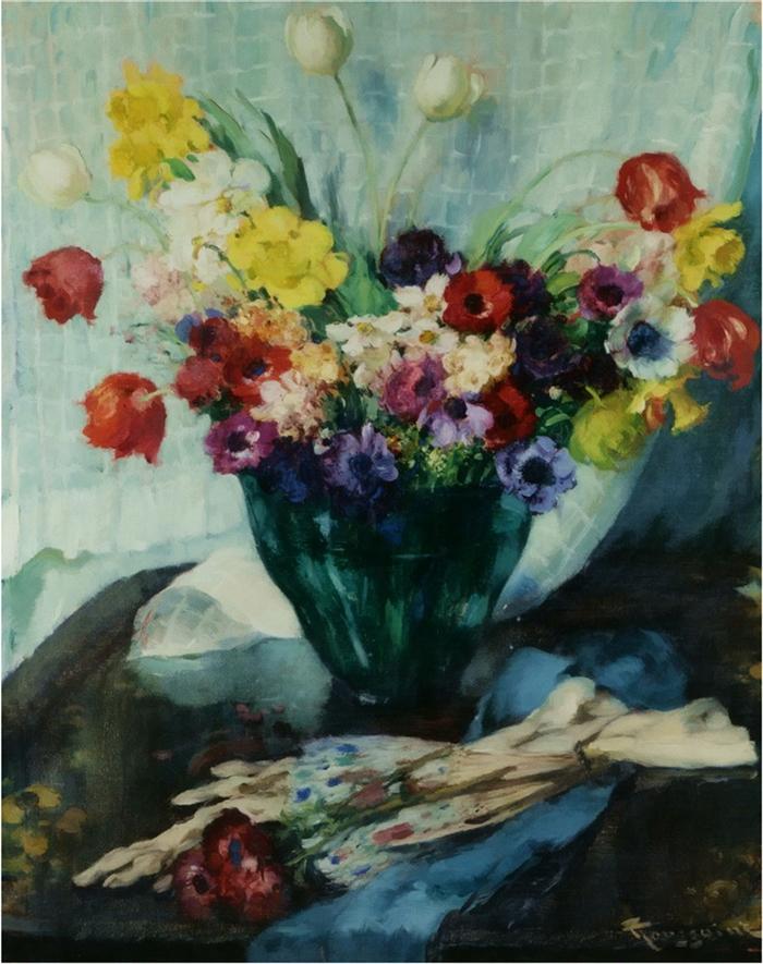 Fernand Toussaint 1873-1956 | Belgian Post-Impressionist painter