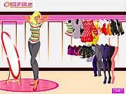 Shopping năm mới, game ban gai
