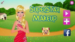 Screenshots of the Superstar Makeup for Android tablet, phone.