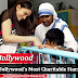 Bollywood's Most Charitable Stars