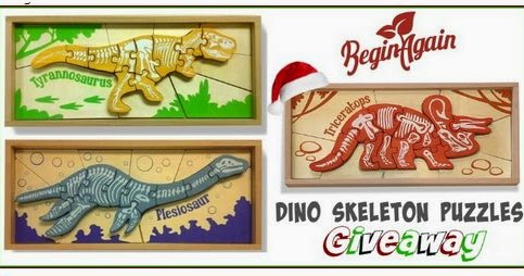 Life Is A Sandcastle 3 Beginagain Dino Skeleton Puzzles
