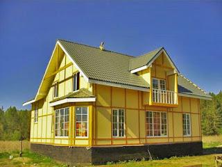 Фото вот пример каркасного дома