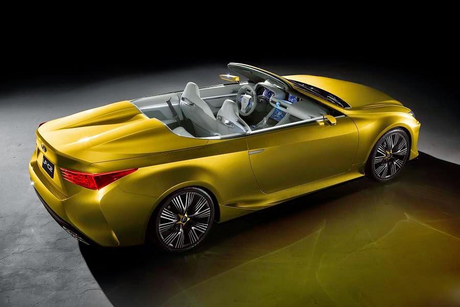 Lexus LF-C2 Concept (2014) Rear Side
