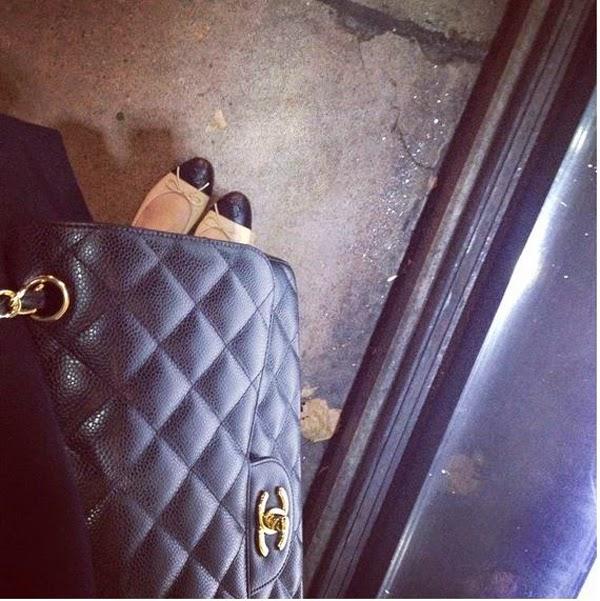 LamourDeJuliette_Chanel_Classic_Flap_Chanel_Flats
