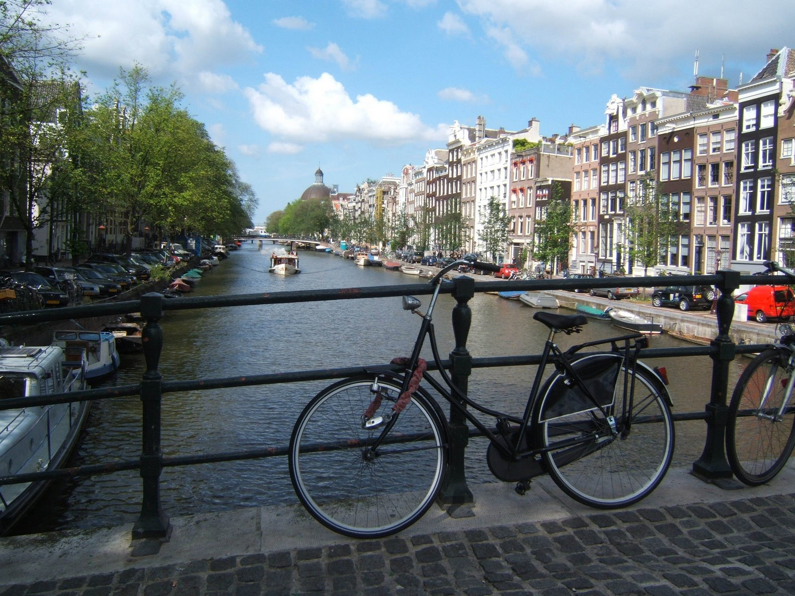 Bikes and Bridges, Amsterdam.  Watch out for the cyclists, they mean business!
