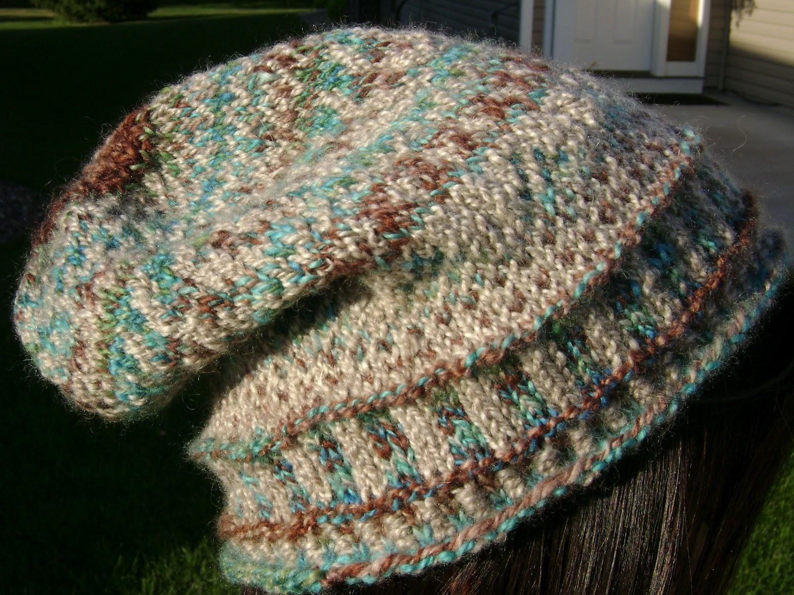 Fair Isle Knitting Hat : Knitting my way home may