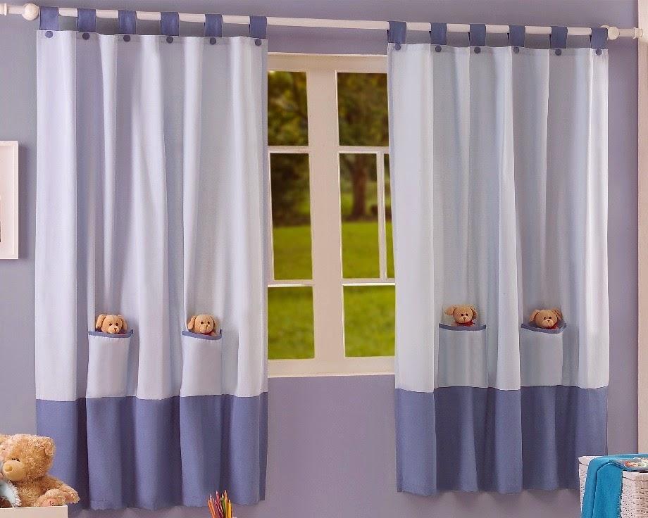 cortinas para dormitorios infantiles