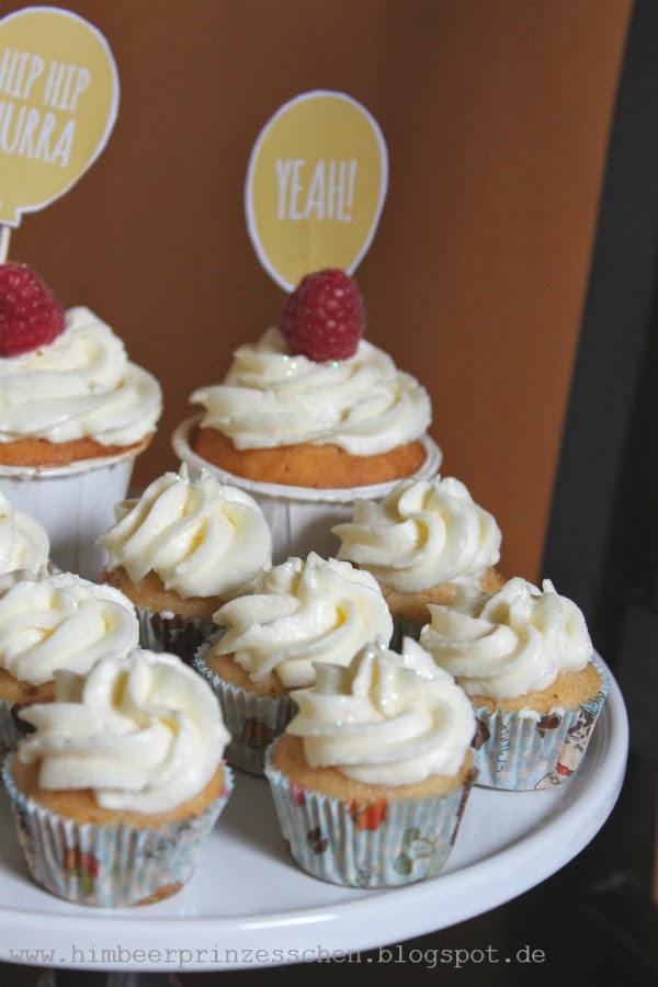 Himbeerprinzesschen Foodblog Zitronen Cupcakes