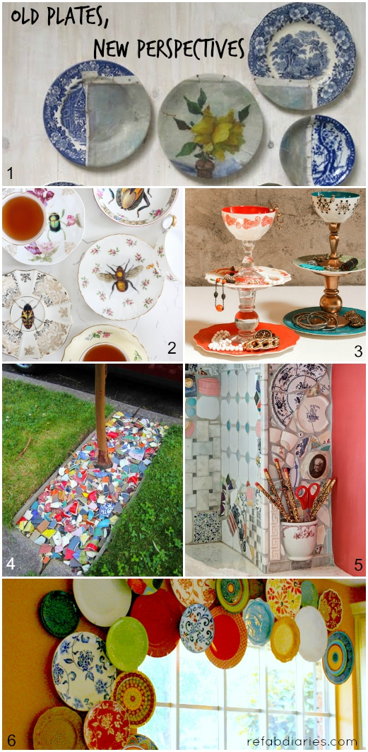 Upcycle: Old plates, new perspectives | the ReFab Diaries