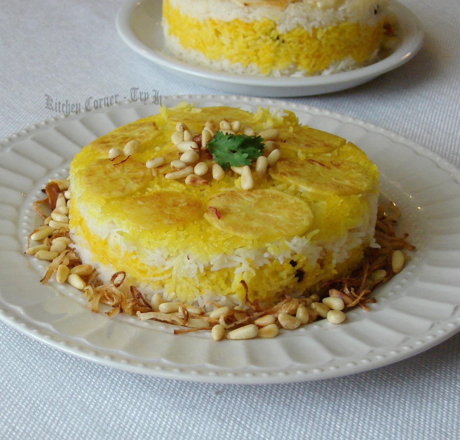 Kitchen Corner-Try It: Persian Saffron Rice