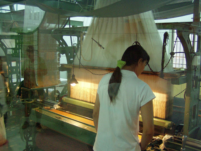 Suzhou Silk production
