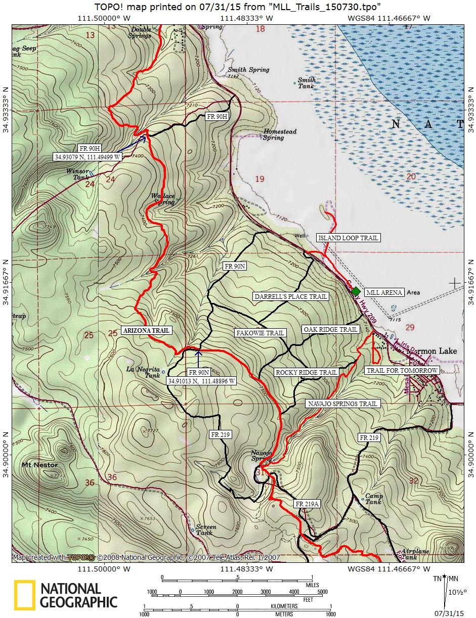 Arizona Hiking: MORMON LAKE LODGE AREA TRAILS
