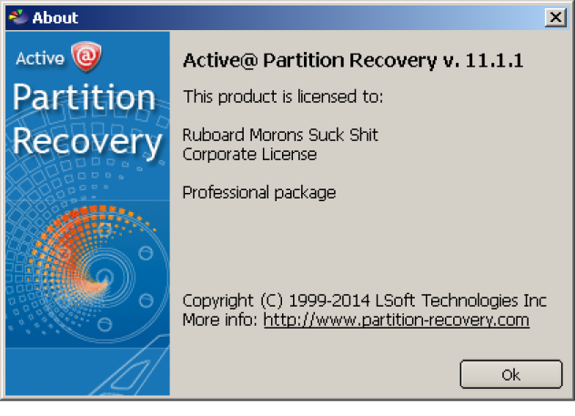 Active Partition Recovery 11 Professional Serial Keys