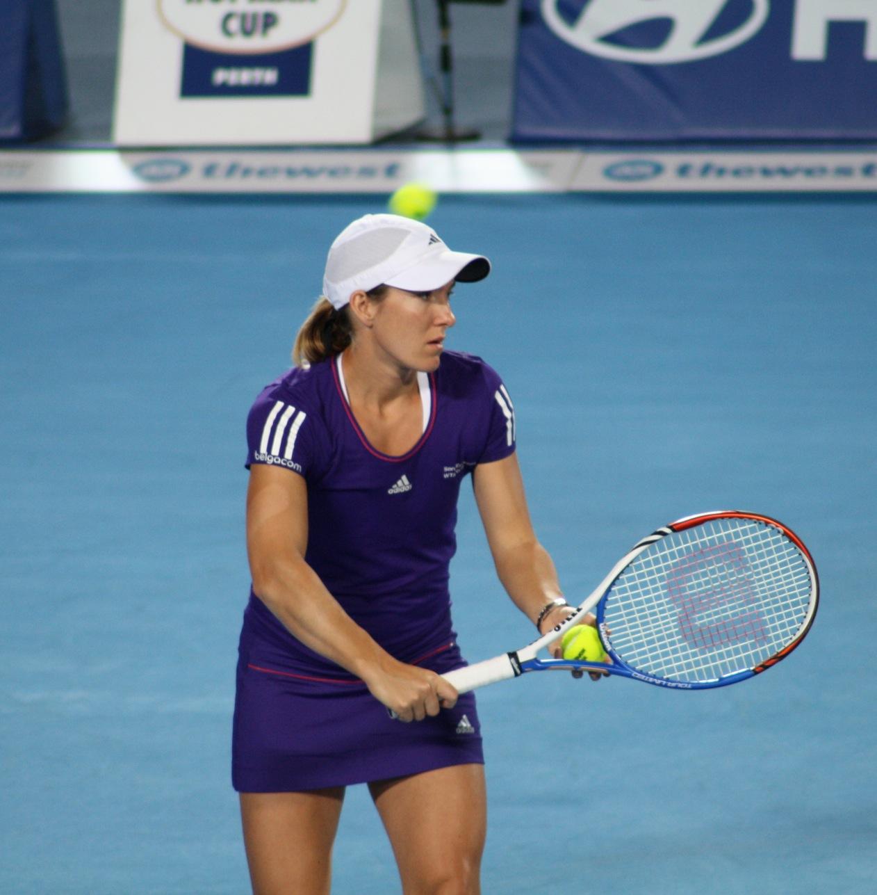 Justine Henin Female Tennis Star Biography & s 2011