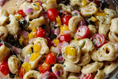 Summertime Tortellini Pasta Salad