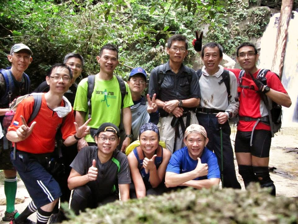 malaysia perak gunung korbu waterfall kem seroja