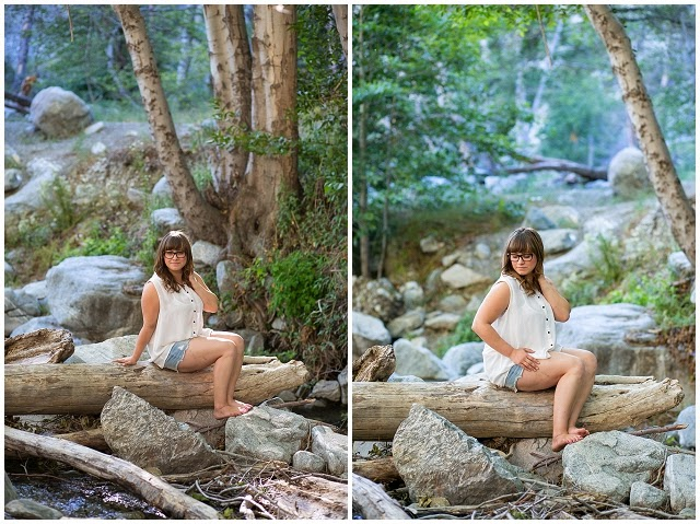 Mt Baldy Portrait Photography Southern California