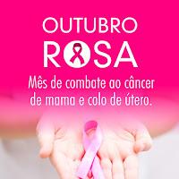 Outubro Rosa 🌺💮