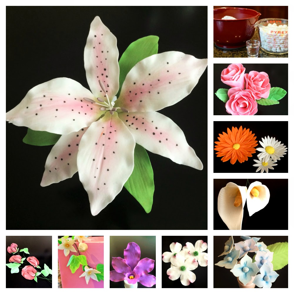 Gum Paste Flower Tutorials
