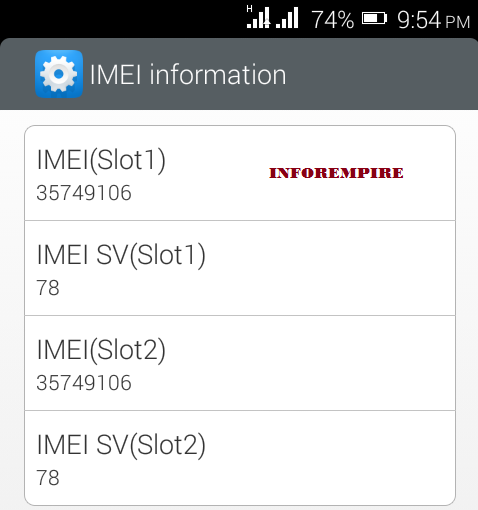 how to change imei number on rooted android