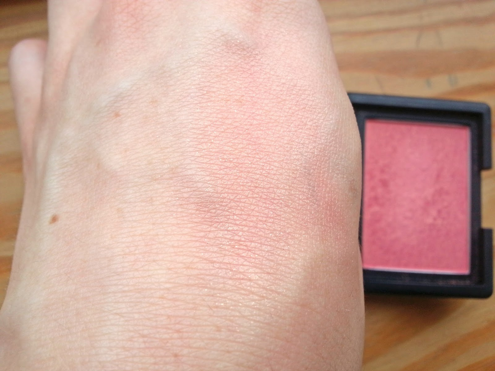 NARS Orgasm Blush Swatches and Review