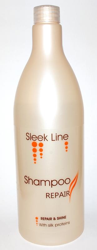 Stapiz, Sleek Line Repair - szampon z jedwabiem