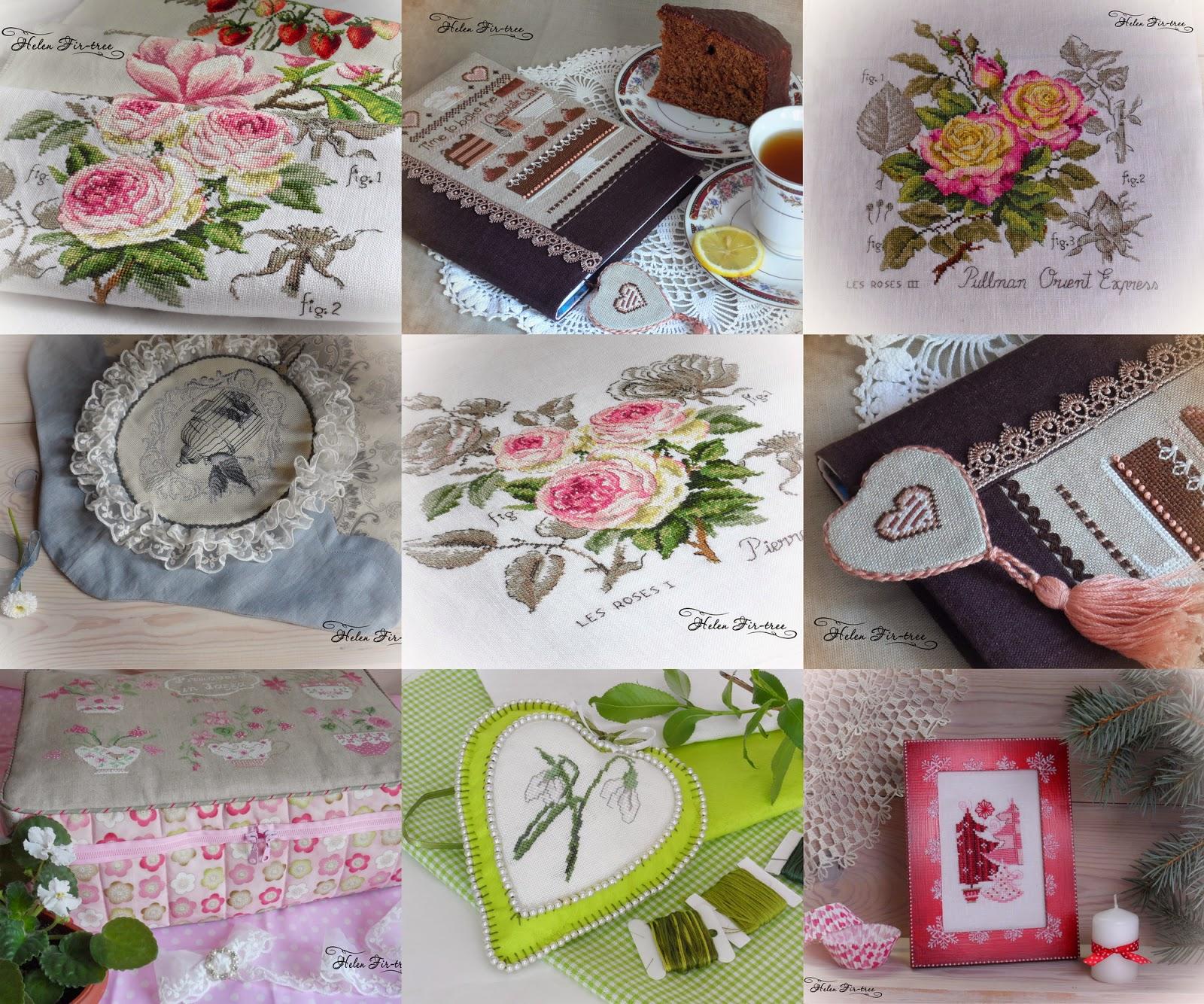 Helen Fir-tree рукодельные итоги 2014 года handmade results of 2014