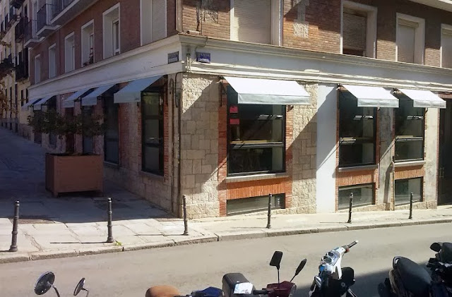 Fachada esquina_Cafetería Federal Madrid
