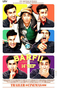 Barfi! 2012 Hindi Movie Watch Online