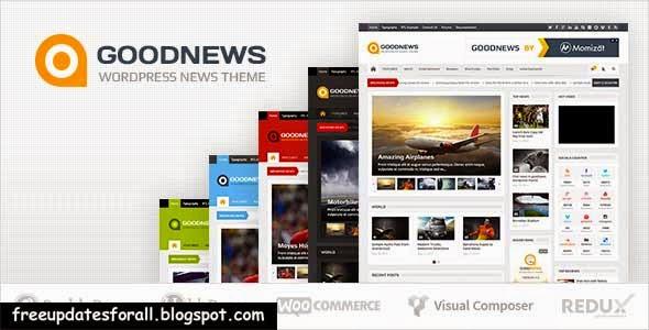 Goodnews - Responsive WordPress News Magazine Free Download