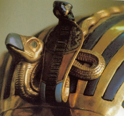Tutankhamun gold mummy mask