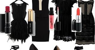 Complementos para vestido negro de ceremonia