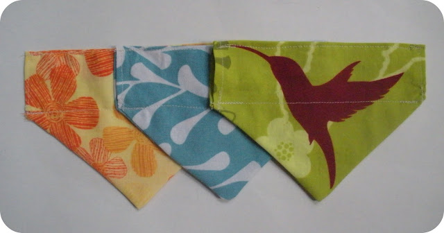 Slide on dog collar bandana tutorial sewing patterns for Dog bandana template
