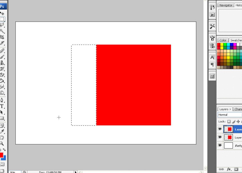 Dan warnai juga dengan paint bucket tool tapi berilah warna yang lebih ...