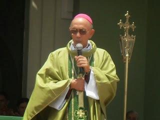 Visita pastoral de Dom a Rajada.
