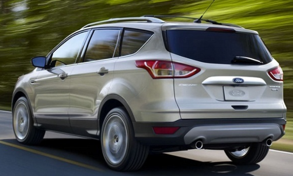 2016 Ford Escape Rear View
