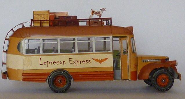 "Chevrolet bus/truck - ""Jardineira"" esc 1:50"