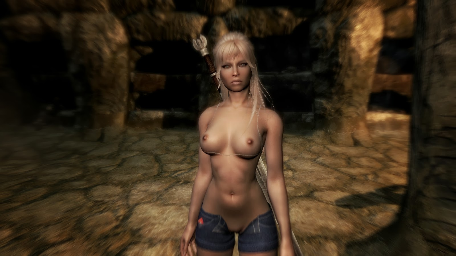 Morrowind naked mods hentai busty slut